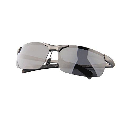 HYSENM air Mode Cyclisme Plein polarisées Ultra UV Homme Voyage de Lunettes Cadre Femme Conduite Pêche Sports Soleil Protection noir léger de 1 pour TqAgrT