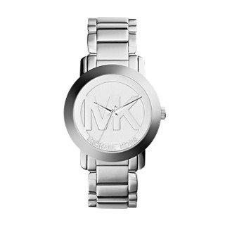 Michael Kors Silver-Tone Steel Watch