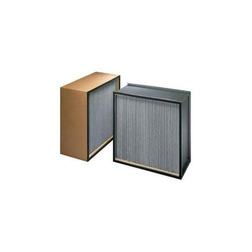 Image of KochTM Filter H63a1x1 99.97% Biomax Hepa Galv. Steel/Dbl Turned Flange 18w X 24h X 11-1/2d Coalescing Filter Elements