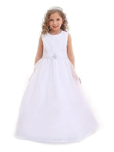 iGirldress Flower Girl First Communion Pageant Wedding Birthday Dress CA3636-8 for $<!--$79.00-->