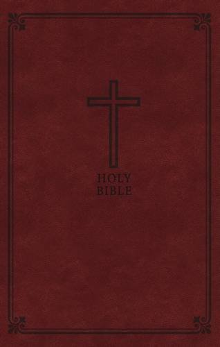 Deluxe Bible Leathersoft Letter Comfort