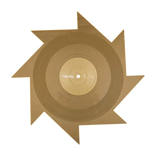 Serato 12-Inch Thud Rumble Weapons of Wax 1 Spike Control Vinyl, SCV-SP-062-W1