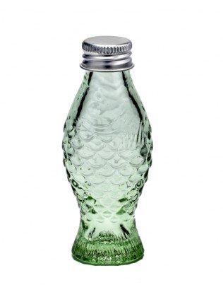 Serax Botella de cristal con tapa, cristal, transparente verde, 50 ml de capacidad
