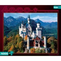 Buffalo Games 4000pc, Neuschwanstein Castle - 4000pc Jigsaw Puzzle by Buffalo Games