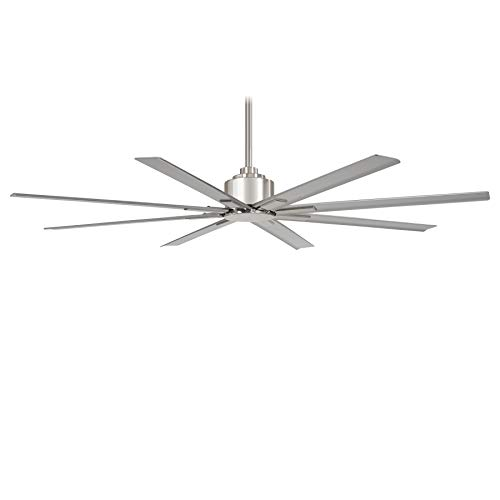Minka-Aire F896-65-BNW Xtreme H20 65″ Outdoor Ceiling Fan with Remote Control, Brushed Nickel Wet Review