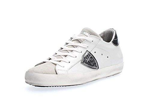 Model Clld1005 Classic Sneaker Bianca Suede Donna Low Pelle Philippe g6wOdq1g