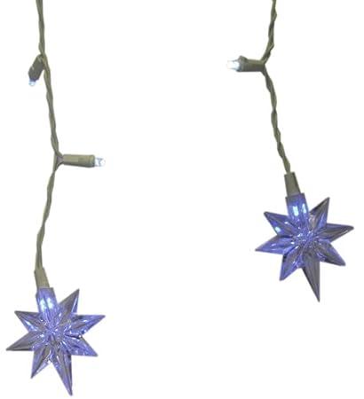 everstar merchandise co bst68522 led liberty star icicle christmas light set