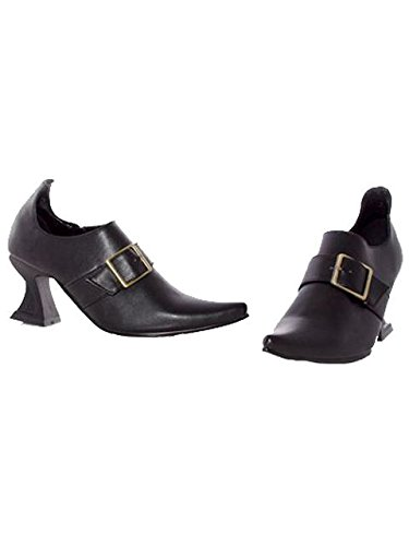 Ellie Shoes E251-HAZEL-XL X-Large Witch Child Shoe - Black ()