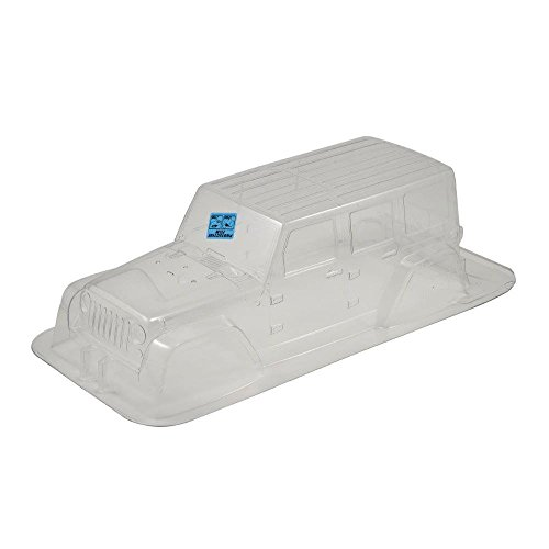 Proline 333600 Jeep Wrangler Unlimited Rubicon Clear Body 12.3