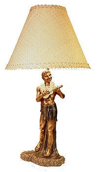 Vintage bronze hula lamp 32 man with ukulele hawaiian decor vintage bronze hula lamp 32quot man with ukulele hawaiian decor mozeypictures Images