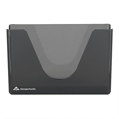 Countertop Towel Dispenser, 11x4x7-1/8, Smoke