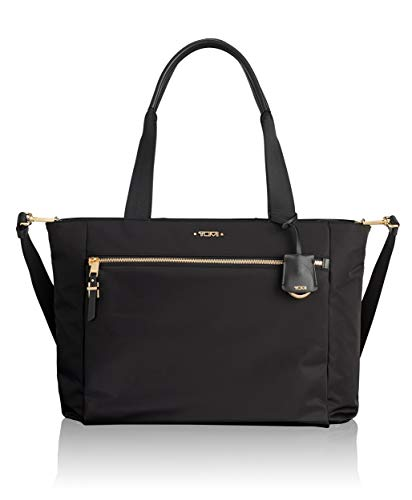 TUMI Women's Voyageur Mauren Tote Laptop, Black, One Size