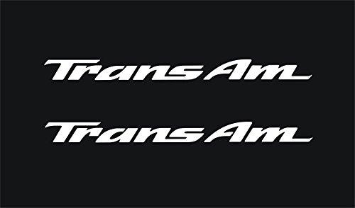 - Pontiac Trans Am Door Handle Decals (White)