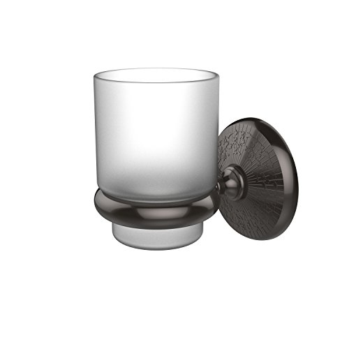 Allied Brass MC-66-ORB Monte Carlo Collection Wall Mounted Tumbler Holder, Oil Rubbed Bronze (Precision Tumbler)