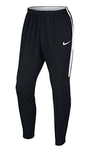 NIKE Men's Dry Academy Pants, Black/Black/White/White, Large