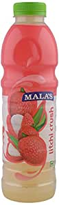 Mala's Litchi Squash, 750 ml