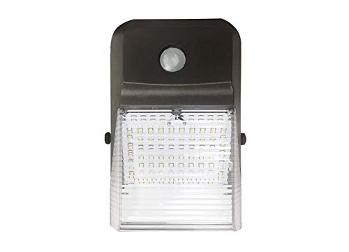 ASD 20W LED Wall Pack Light with Dusk to Dawn Photocell, Outdoor, Commercial Grade, 4000K (Bright White), Bronze, Waterproof IP 65, Security Area Lighting, UL Certified, DLC Listed by ASD