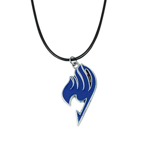 Myhouse Blue Anime Fairy Tail Necklace Cosplay Accessory Pendant Necklace