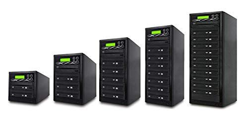 SATA DVD Duplicator - 5 Target Standalone CD / DVD