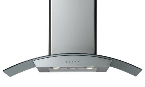 Windster Hood H30SS Residential Stainless Steel Wall Mount Range Hood Set with Glass, 30-Inch by Windster Hood