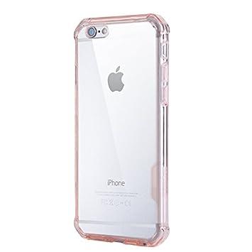 Caso iPhone 7/iPhone 8 Transparente Suave TPU Funda Carcasa ...