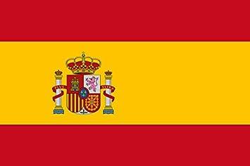 Grand Bandera de España con Escudo 150*90 cm Spain Satén Durabol .