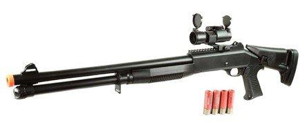 double eagle m186a m1014 s90 cqb airsoft shotgun 385-fps airsoft gun(Airsoft Gun)