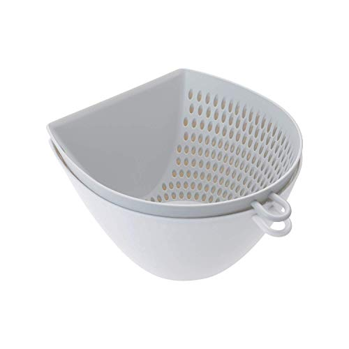 Trifecta Multipurpose Strainer - Removable Strainer, Mixing Bowl & Measuring Cup - 1.1 L (37.1 ()