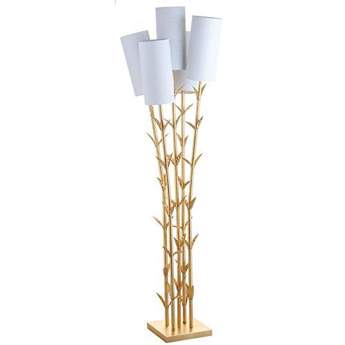 "Jonathan Y JYL2021A Floor Lamp, 26.5"" x 65.5"" x 26.5"", Gold"
