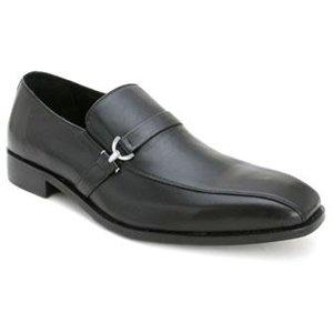 Bacco Bucci Men's Mata Slip On Loafers,Black,10.5 D