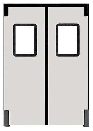 4 FT White Vinyl Door Bottom for 1 3//4-2 Thick Doors 4 FT P-12-WH