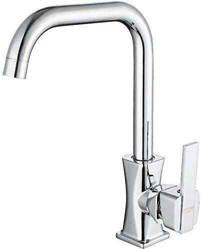 BXU-BG すべての銅バルブボディ、キッチン洗濯流域の蛇口、現代のKitchenquality保証とシンプルな古典的なレトロラグジュアリーホームデコレーション用の水タンクの蛇口、ロータリーホットとコールド蛇口
