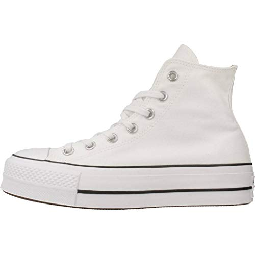 Hi Hautes Black CTAS Converse EU Baskets Lift White Adulte 36 Mixte wq4SpREpnx