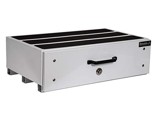 Buyers Products - Caja de Cama con cajones, Color Blanco, Blanco, 12 X 24 X 40 Inches