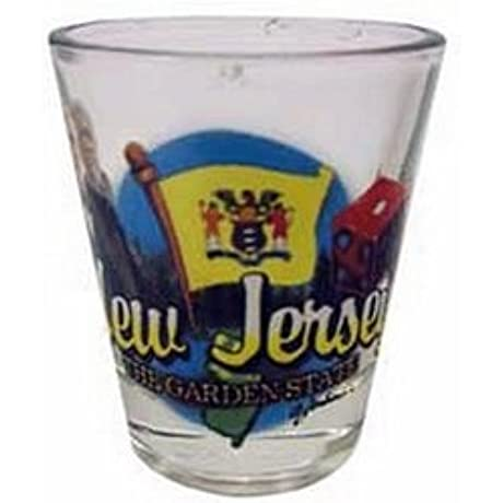 DDI New Jersey Shot Glass 2 25H X 2 W Elements Cases Of 96 Items