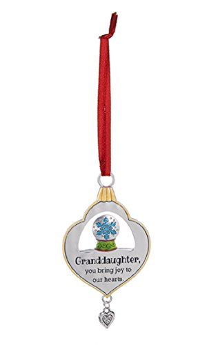 Ganz Granddaughter You Bring Joy to Our Hearts Zinc Ornament