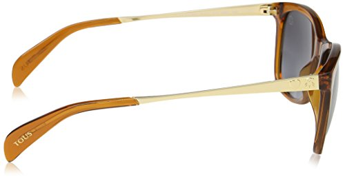 para Mujer Brown Tous de Gafas Sol Transparente Warm PqPfStwU