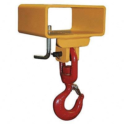 Lifting Hook, Sgl Fork, Sgl Swivel, 3000Lb.
