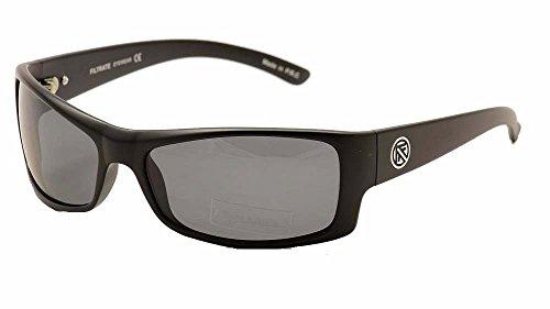 filtrate eyewear kevin sunglasses matte black grey lens