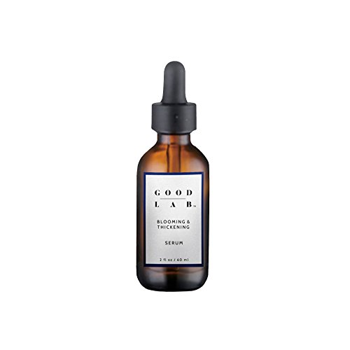 Good Lab Blooming & Thickening Hair Serum for Hair Loss, Hair Growth & Thinning Hair. Packed w/DHT Blockers & Antioxidants. Made w/Natural Ingredients. Hair Growth Serum. All Hair Types. (2 Fl Oz)