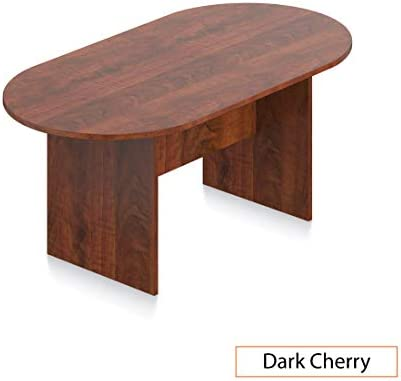 GOF 6 FT Conference Table, Cherry, Espresso, Mahogany, Walnut 6FT, Dark Cherry