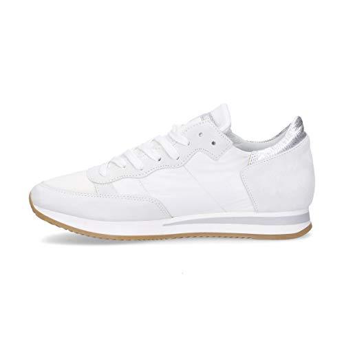 Blanco Model Philippe Mujer Cuero Trld1120 Zapatillas qtqCxPRw