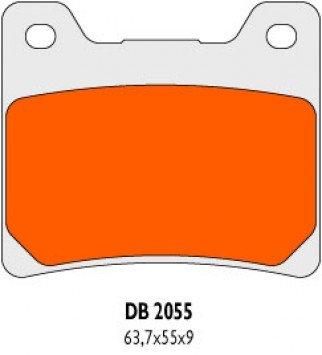 Hinten Bremsbel/äge Delta Braking Sinter DB2055RDN f/ür YAMAHA 900 XJ S Diversion Baujahr 95-03