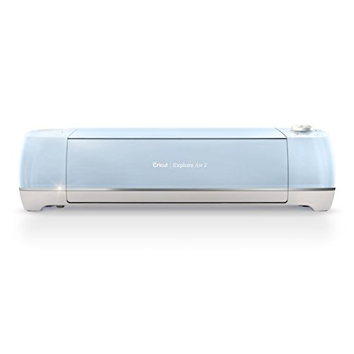 Cricut Explore Air 2 2X Speed Bluetooth Diet Cut And Embossing Machine - Glacier Blue