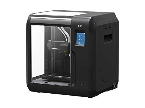 Monoprice 135880 Voxel 3D Printer - Black with Removable Heated Build Plate (150 X 150 Mm) Fully Enclosed, Touch Screen, Assisted Level, Wi-Fi, 8Gb