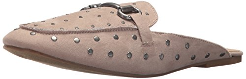 Madden Girl Women's Milo Mule, Taupe Fabric, 6.5 M US