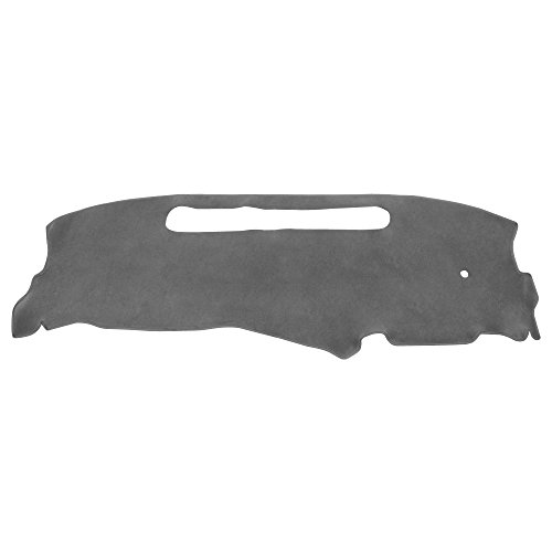 S10 Dash Cover - Hex Autoparts Dash Cover Mat Dashboard Pad for 1998-2004 Chevy S10 Pick Up (Gray)