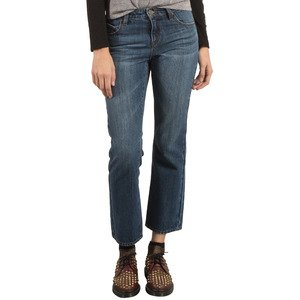 (Volcom Junior's Womens' 1991 Classic Fit Denim Straight Jean)