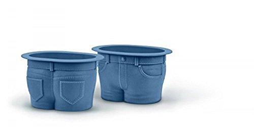 Fred & Friends Muffin Tops Denimstyle Baking Cups; Set of 4; New; Free Shipping