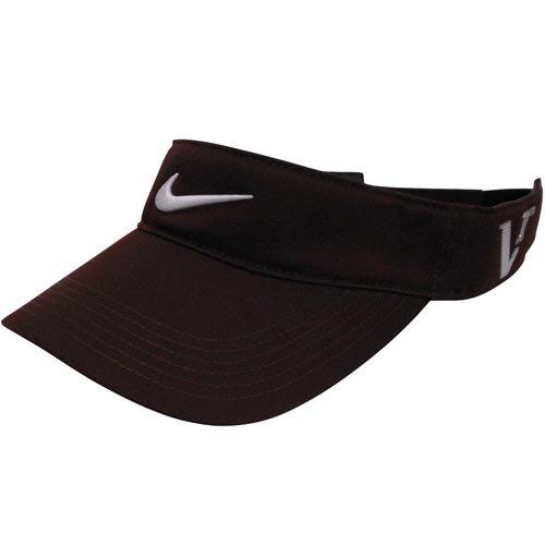 Victory Red Golf Hat (Nike Golf Tour Visor, Deep Burgundy/White, One Size)
